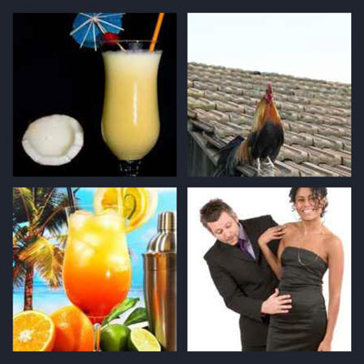 Cocktail | 4 Pics 1 Word Cheats | 4 Pics 1 Word Answers